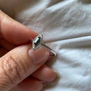 Fragrant Jewels smoky stone ring size 7 NWOT